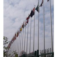 圣旗伟业不锈钢锥形旗杆专业品质保证,江苏,上海,浙江电动旗杆厂家直销