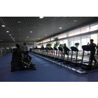 供应青岛健身房商用塑胶地板