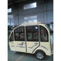 圣峰珠峰海宝金彭全封闭电动三轮车一体冲压五门客运接孩子三轮车