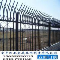 围墙隔离栅 万泰铁路护栏网 园艺护栏网