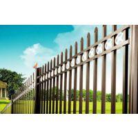 安平生产锌钢护栏庭院围栏小区别墅锌钢栅栏耐候经久耐用