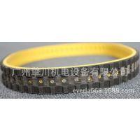 黄色橡胶拉膜带 开槽打孔同步带立式包装机皮带海德堡印刷机皮带