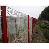 厂家直销优质护栏网 三角折弯护栏 桃形柱围栏 道路防撞隔离网