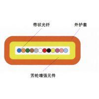 供应深圳光缆厂家直供室内光纤带光缆 12芯带状光缆