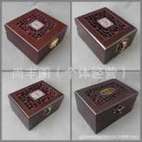 手镯盒 挂件盒 把件盒 仿红木质珍藏品珠宝首饰佛珠银锦吊坠盒子