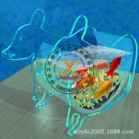 宁波厂家生产供应小型有机玻璃迷你型鱼缸 亚克力小型鱼缸