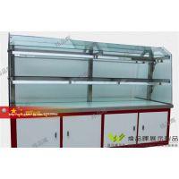 面包柜H-06,弧形玻璃柜,木质烤漆展柜,多功能柜中岛柜,可移动面包柜