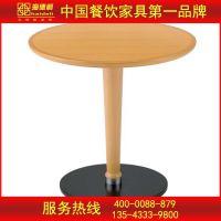 【聚划算】实木圆桌 时尚美式乡村风格咖啡厅桌椅定做批发