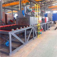供应惠州铝模板通过式喷砂抛丸机