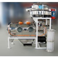 供应新乡恒宇机械魔芋粉分级设备/旋风气流筛分/精度高品质保障品牌气流筛