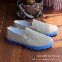 厂家直销老北京男式休闲布鞋学生鞋地摊儿清仓处理