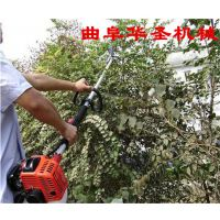多功能修枝打草割灌高枝油锯价格 华圣3米长杆园林修剪砍伐锯