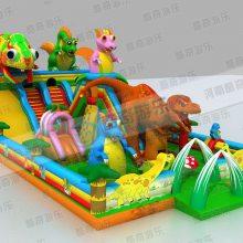 猪猪侠充气城堡,新款猪猪侠充气城堡跳跳床