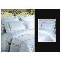 星级酒店宾馆床单选深圳蒂安娜,优质纯棉酒店用品床单厂家
