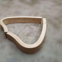 沃尔美加工弯曲木家具配件,曲木扶手定制,款式多样