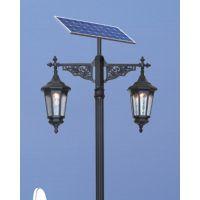 华可路灯厂家直销4米30W小区太阳能led庭院灯质量保证值得信赖