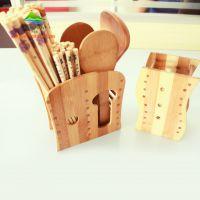 供应优质实木家具 实木家居用品 木筷子筒 筷笼