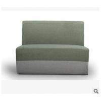 地中海风格布艺全软包懒人卡座沙发 咖啡厅/西餐厅沙发