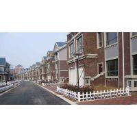 洛阳厂家供应PVC社区护栏 /绿化带护栏/塑钢护栏