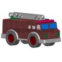 玩具车模型 设计建模 3D快速成型 上色打样 欢迎来图定制