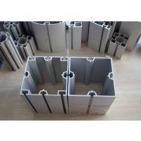 佛山厂家直销8CM方柱 广交会特装展架80方柱铝材 八分方柱铝料库存供应