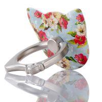 猫头新款手机指环支架 韩国风手机指环扣 猫头指环扣礼品定制