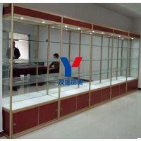 深圳货架厂家批发供应钛合金精品玻璃展示柜