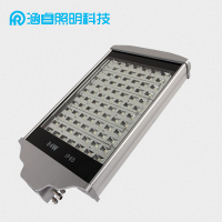 LED平板路灯112W户外防水高杆搓衣板投射路灯新农村60口径led路灯