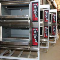 两层四盘燃气烤箱广州市白云区工厂大奥科电燃气烤箱食品烤炉大型商用面包机蛋糕机