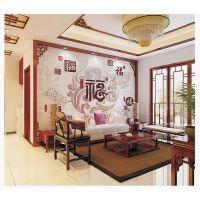 陶瓷背景墙瓷砖艺术画水刀拼花镶嵌壁画电视墙玄关雕刻画