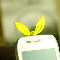 FC063 防尘塞批发 iphone4S苹果手机耳机防尘塞 长耳朵防尘塞