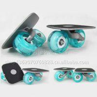 生产风尚系列pvc贴纸 四轮双翘成人专业滑板 漂移滑板车防滑贴