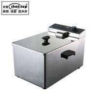 Z4L定时电炸锅商用 加厚炸炉单缸 薯塔炸锅炸鸡排