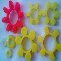 厂家供应 六角弹性梅花垫 梅花型弹性联轴器 聚氨酯梅花垫