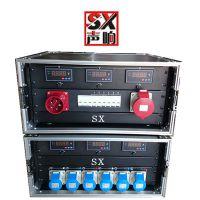 声响 定做6路电源柜直通箱LED大屏舞台灯光音响婚庆演出配电柜