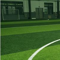 天津足球场人造草坪施工步骤_石英砂橡胶颗粒填充标准