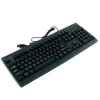 镭雕时尚键盘 USB加P游戏键盘 仿机械手感设计 台式电脑厂家批发
