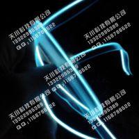 长期供应 发光数据线 耳机单边线 单边自动插件线 一拖三发光线