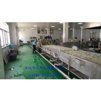 厂家直销华邦HB-800蔬菜清洗风干挑选流水线 品质