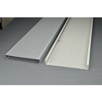 铝条扣厂家|铝长条天花|冲孔铝条扣|微孔铝条扣
