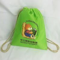 天津幼儿培训学校背包书包定制帆布儿童背包定做生产出口厂家