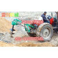 后置式拖拉机带植树种植机械 栽树机 山坡平地用栽树机