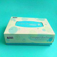 定做各种纸巾盒、折叠抽纸盒、面巾纸盒 清远金彩印刷厂家 批发
