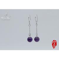 水晶坊 天然水晶紫水晶耳环 紫水晶项链 紫水晶手链