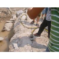 快速无声开裂石材的机械是什么?