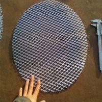 钢板网过滤片#镀锌钢板网圆片#支撑过滤片