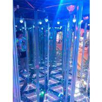 镜子迷宫设计图 ,紫晨游乐(图), 镜子迷宫厂家