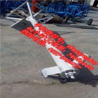淀粉用304不锈钢移动式螺旋输送机 兴运厂家定做U型无缝管绞龙提升机