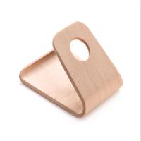 弯曲木手机展示架,曲木弯板,来图加工定制,环保好用