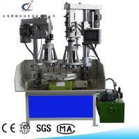 精驰牌多工位转盘式高精密液压钻孔攻丝机 JC-ZGJ011